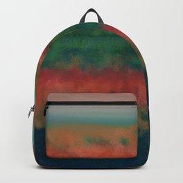 Wetlands Autumn Sunset Backpack