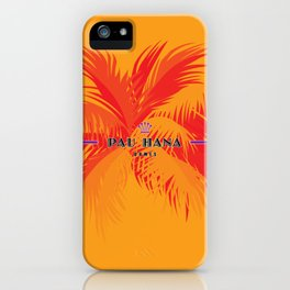 Pau Hana Domes Orange iPhone Case