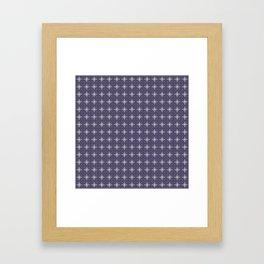 stas lilac Framed Art Print