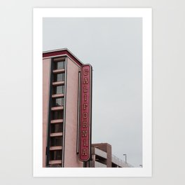 California Hotel & Casino Art Print