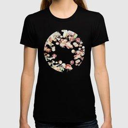 Ethereal Pastel Summer Garden T-shirt