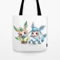 projectrocket Tote Bags featuring Brotherly Love by Randy C