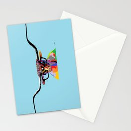 Hipster Longhorn Stationery Cards