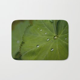 Water on Leaf Bath Mat