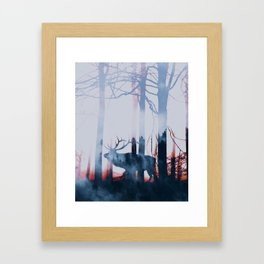 Forest Fairytale Framed Art Print