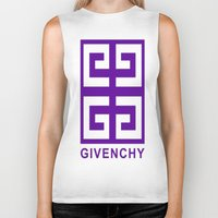 givenchy Biker Tanks featuring Givenchy  by I Love Decor