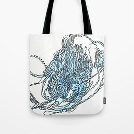 fishbone noodler Tote Bag