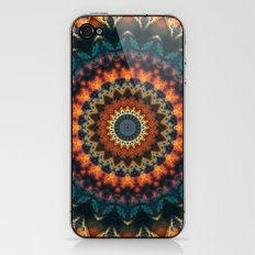 Fundamental Spiral Mandala iPhone & iPod Skin