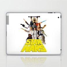 Star War Action Figures Poster - First 12 Laptop & iPad Skin