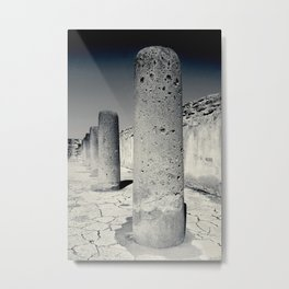 Pillars of Strength Metal Print