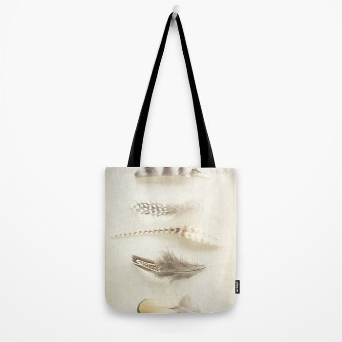 Feather Tote Bag
