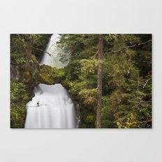 Curly Falls, Washington Canvas Print