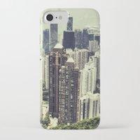 hong kong iPhone & iPod Cases featuring Hong Kong by Martin Llado