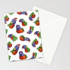 Rainbow Lorikeets Stationery Cards