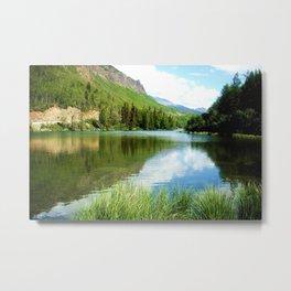 Alaskan Stillness Metal Print