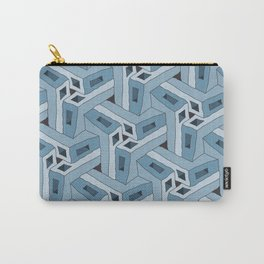 Angle Iron Blues Tessellation Carry-All Pouch