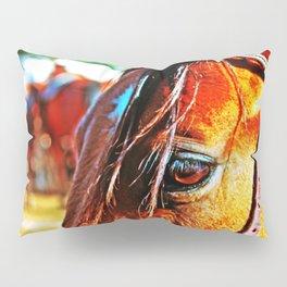Horse-1-Color Pillow Sham