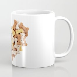 Dog biscuits Valentine heart Coffee Mug