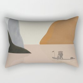 Chinese landscape Rectangular Pillow