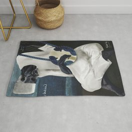 The old Tambour Player Rug