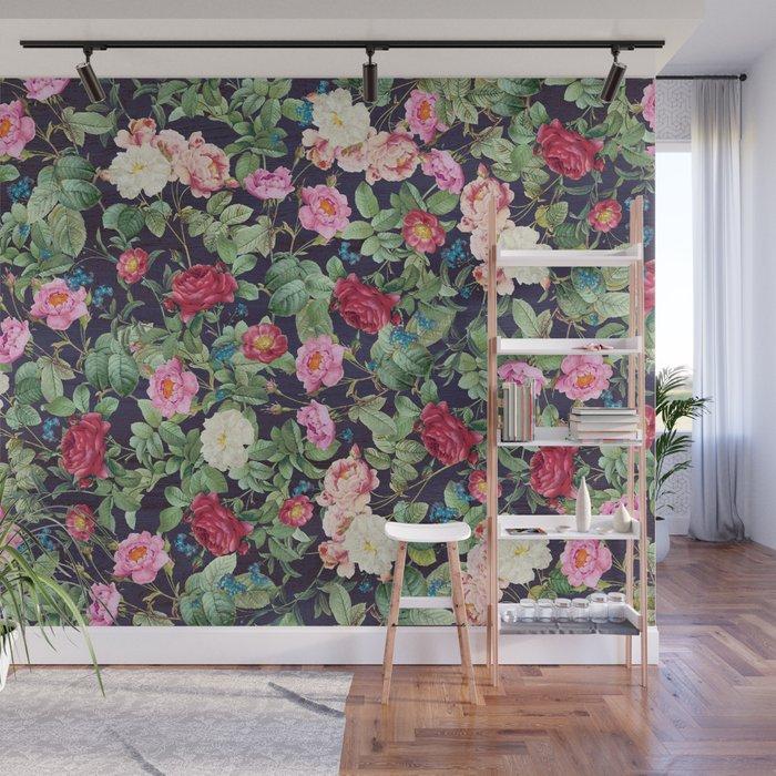 Rose Garden Wall Mural