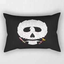 Dove of Death Rectangular Pillow