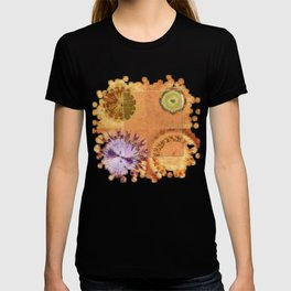 Perambulations Feel Flowers  ID:16165-100731-65461 T-shirt
