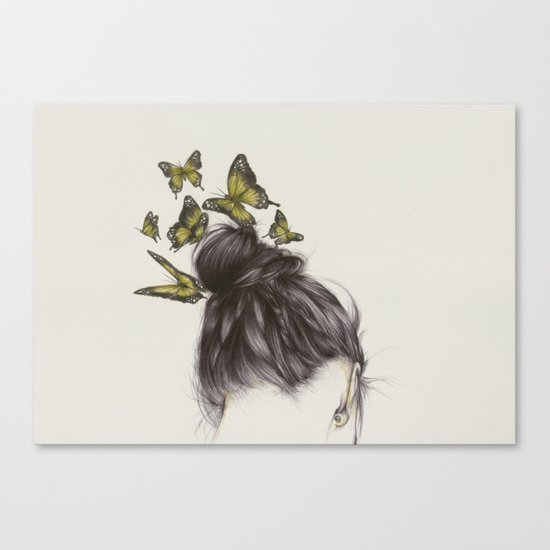 Hair II Canvas Print
