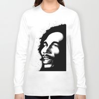 marley Long Sleeve T-shirts featuring Marley by Mr Shins