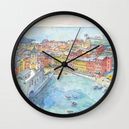 Vernazza, Cinque Terre, Italy Wall Clock