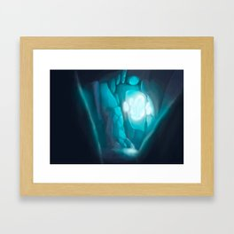 Secret Crystal Framed Art Print