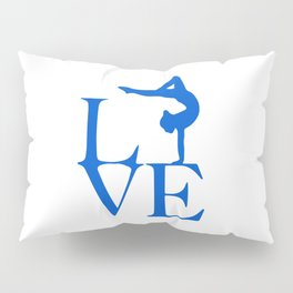 Gymnast Love Pillow Sham
