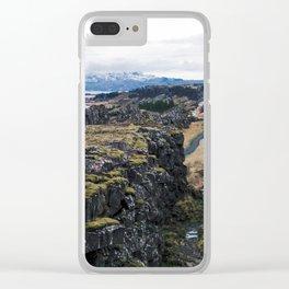 Bláskógabyggð Clear iPhone Case