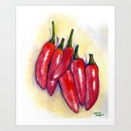 Spicy! Art Print