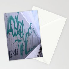 Train Garffiti  Stationery Cards
