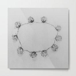 Floral crown Metal Print