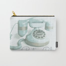 Retro Chat Carry-All Pouch