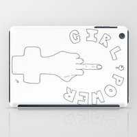 girl power iPad Cases featuring Girl Power! by ☿ cactei ☿