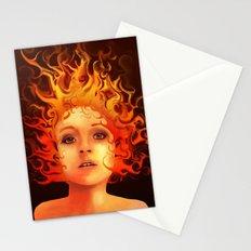 Flame Princess Stationery Cards