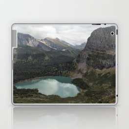 Grinnell Lake from the Trail No. 2 - Glacier NP Laptop & iPad Skin
