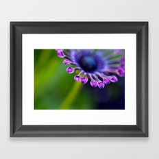 Teaspoon Flower Framed Art Print