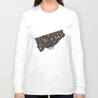 toronto Long Sleeve T-shirts featuring Toronto by BigRedSharks