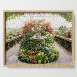 Grand Garden Serving Tray