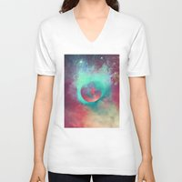 justin timberlake V-neck T-shirts featuring α Aurigae by Nireth