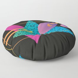 Memphis Pattern 24 - 80s / 90s Retro Floor Pillow