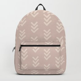 Pink Geo Chevron Arrows Backpack