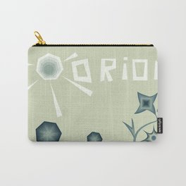 "Print illustration poster ""Orion"". Planet in space cosmos Carry-All Pouch"