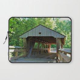 The Covered Bridge at Wildwood Laptop Sleeve