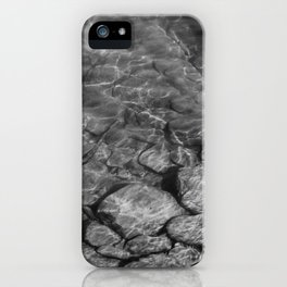 Under Water (Black and White) iPhone Case
