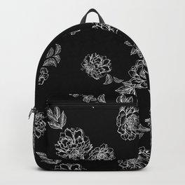 White Peony Backpack